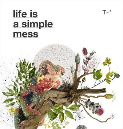 LIFE IS A SIMPLE MESS (Book + CD)
