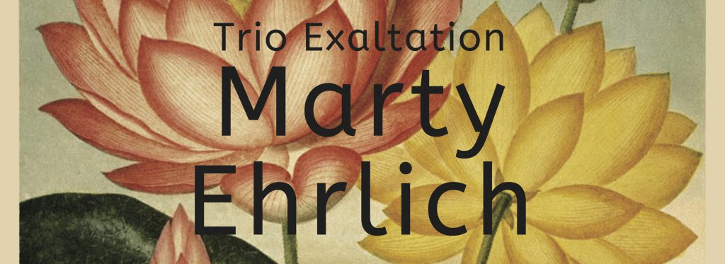 Music and More | Marty Ehrlich with John Hebert and Nasheet Waits – Trio Exaltation